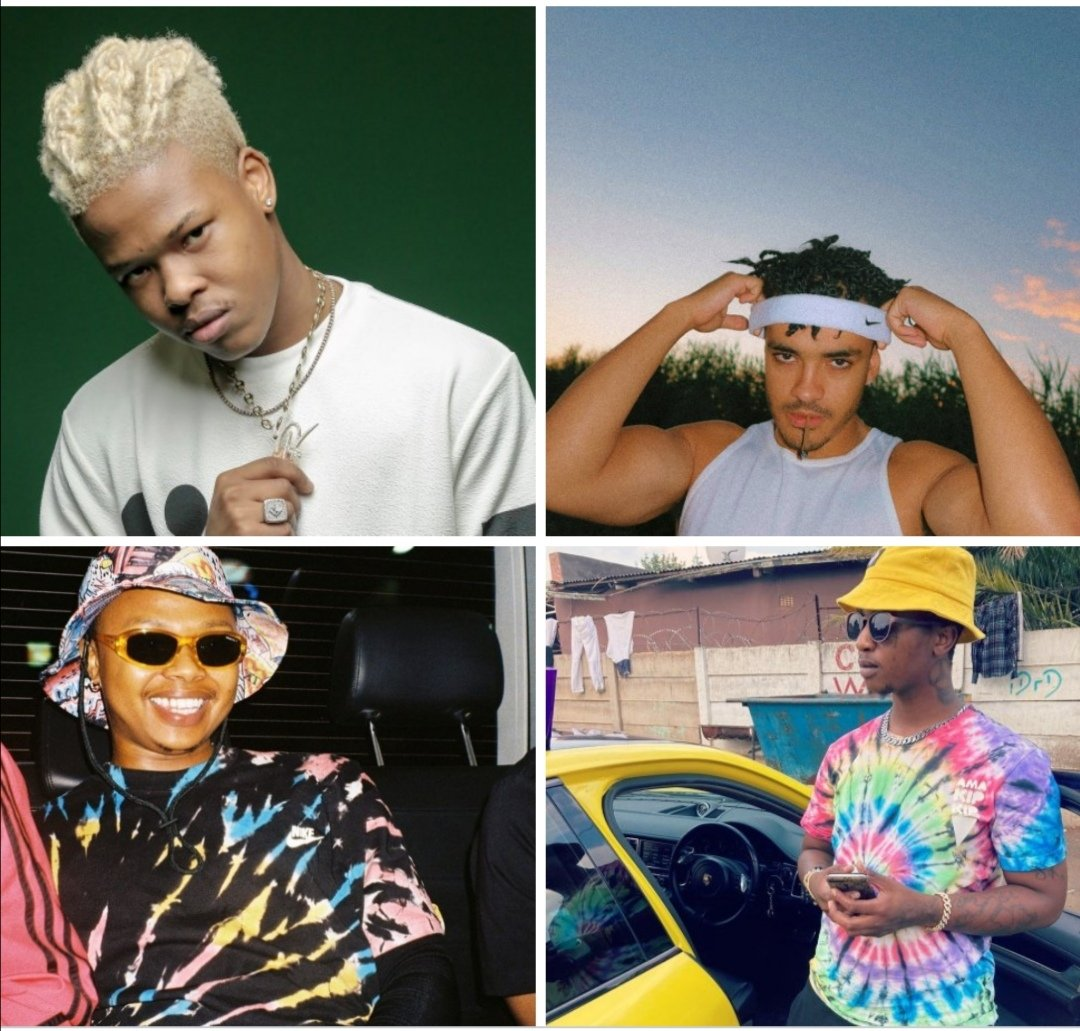 Nasty C, A Reece, Shane Eagle and Emtee