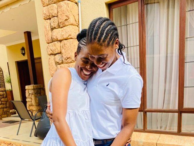Caster Semenya Wife Send