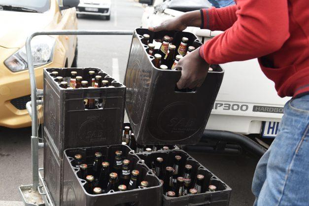Liquor Traders Selling Alcohol, Ramaphosa