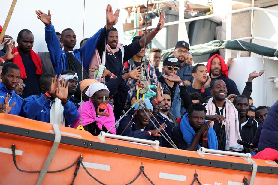 illegal migrant