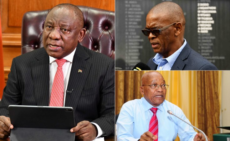 """I will only stepdown if Ramaphosa can tell South Africans the truth his"""" Magashule Guns"""