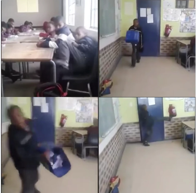 Primary School Learner Does The Unthinkable To His Teacher.